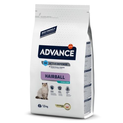 Advance Cat Sterilized Hairball Tacchino