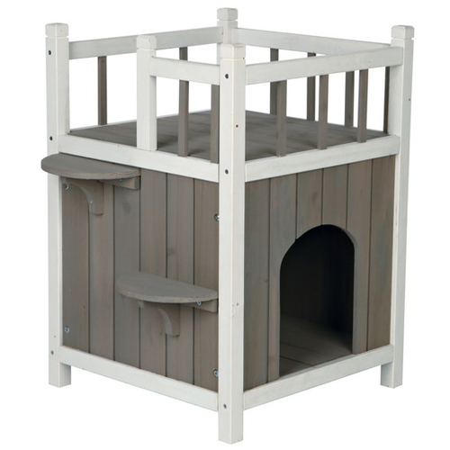 Cats Home con balcone natura Trixie