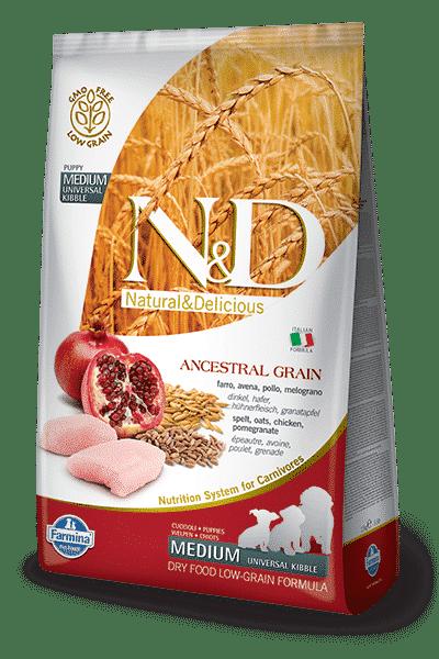 N&D Low Grain Puppy Medium Pollo e Melograno