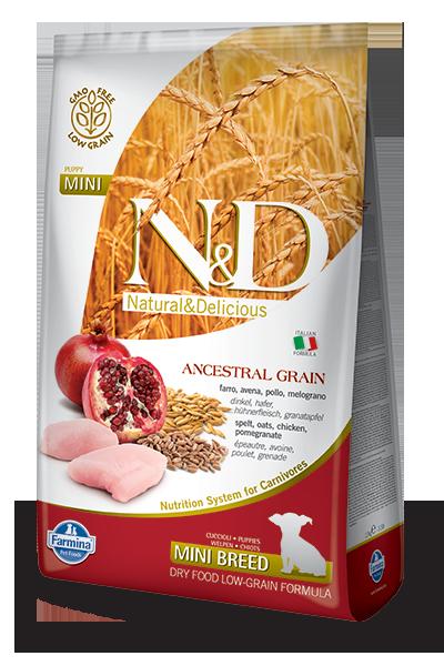 N&D Low Grain Puppy Mini Pollo e Melograno