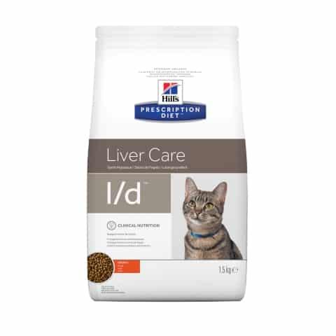 Hill's Prescription Diet l/d Feline