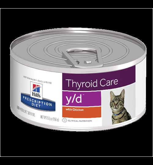 Hill's Prescription Diet y/d Feline 0.156 kg