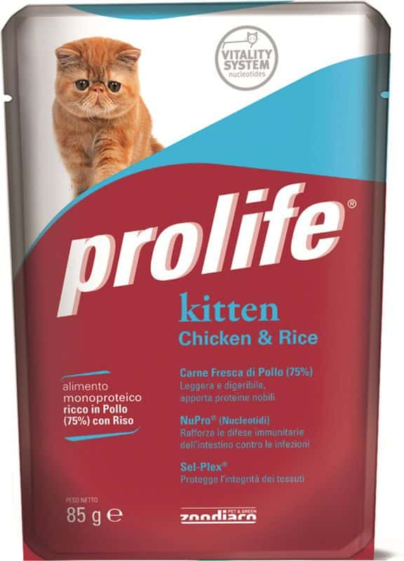 Prolife Kitten Pollo e Riso 0.085 kg
