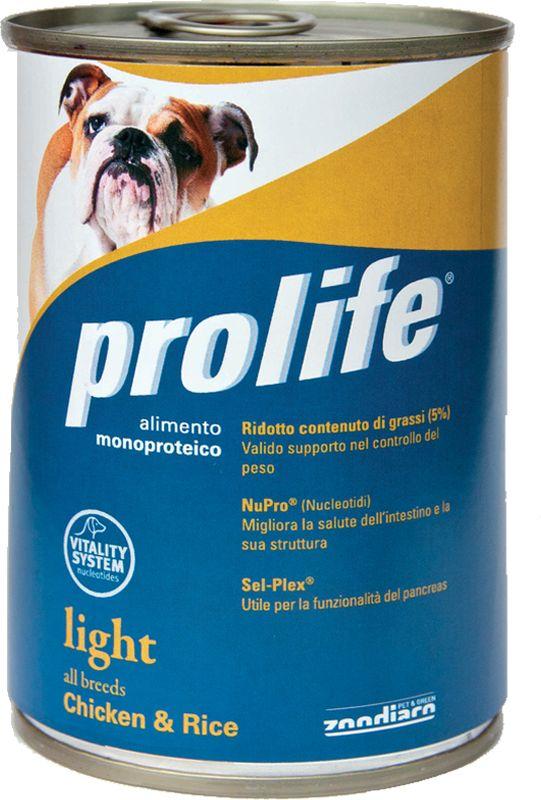 Prolife Light Pollo e Riso 0.400 kg