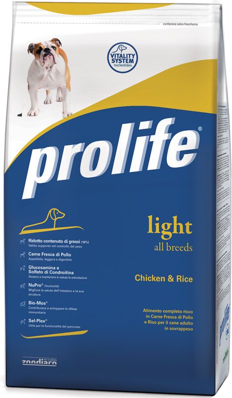 Prolife Light Pollo e Riso