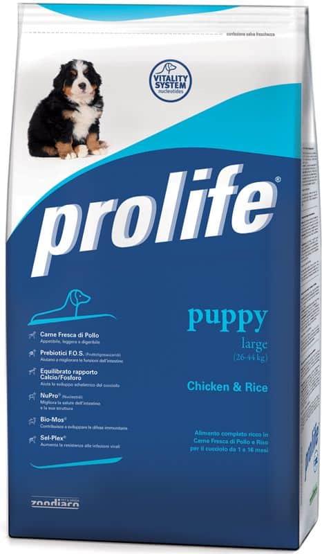 Prolife Puppy Large Pollo e Riso