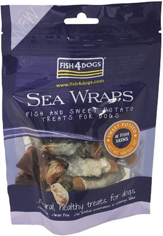 Sea Wraps Sweet Potato (merluzzo e patate)