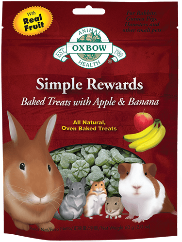 Oxbow Simple Rewards Baked Treats