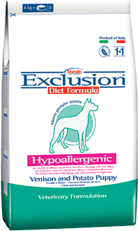 Exclusion Diet Hypoallergenic Puppy-Junior Cervo e Patate