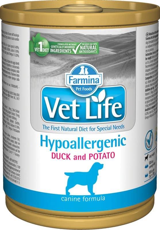 Farmina Vet Life Canine Hypoallergenic Anatra & Patate 0.300 kg