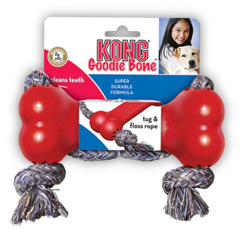 Kong Classic Osso con Corda