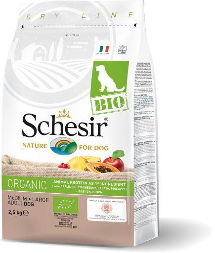 Schesir Bio Dog Adult Medium Large Pollo