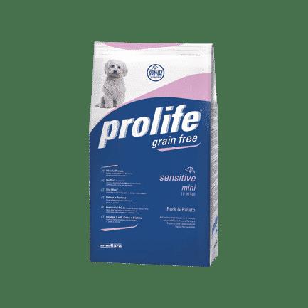 Prolife Adult Sensitive Mini Grain Free Maiale e Patate