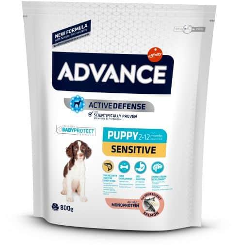 Advance Puppy Sensitive Salmone e Riso