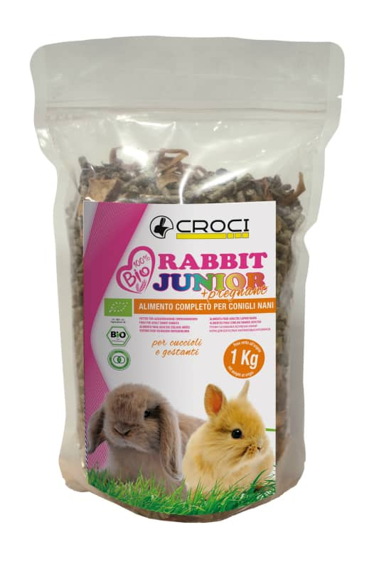 Crocio 100% BIO Rabbit Junior + Pregnant