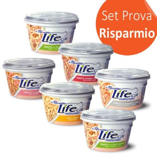 SET PROVA! LifeCat Naturale Le Ricette 150g