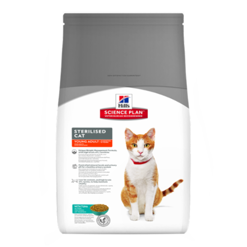Hill's Science Plan Feline Adult Sterilised Cat con Tonno