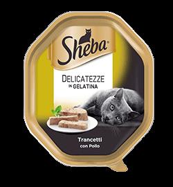 Sheba delicatezze in gelatina 85 gr